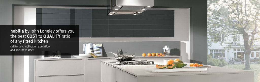 Nobilia Modern Fitted Kitchens In Barnsley Sheffield And Wakefield John Longley Kitchen Design